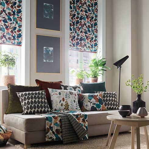 Living Room Blind Ideas