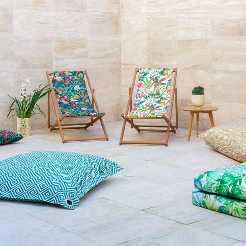 Statement Outdoor Fabrics For Your Garden