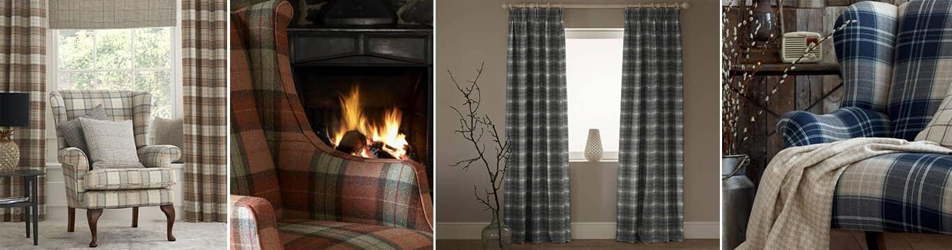 Wool Tartan Fabric