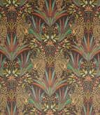 Jungle Jaguar Fabric / Carnelian