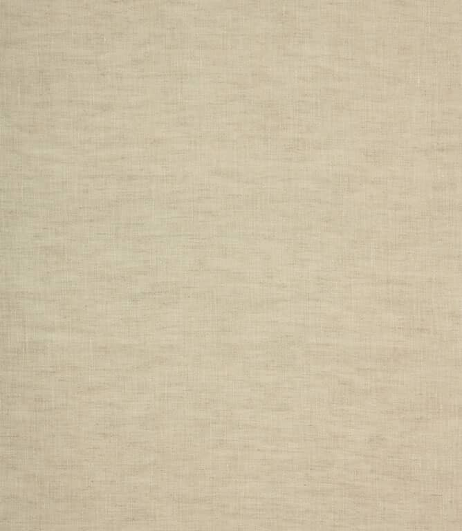 Aston Linen Sheer Fabric / Natural