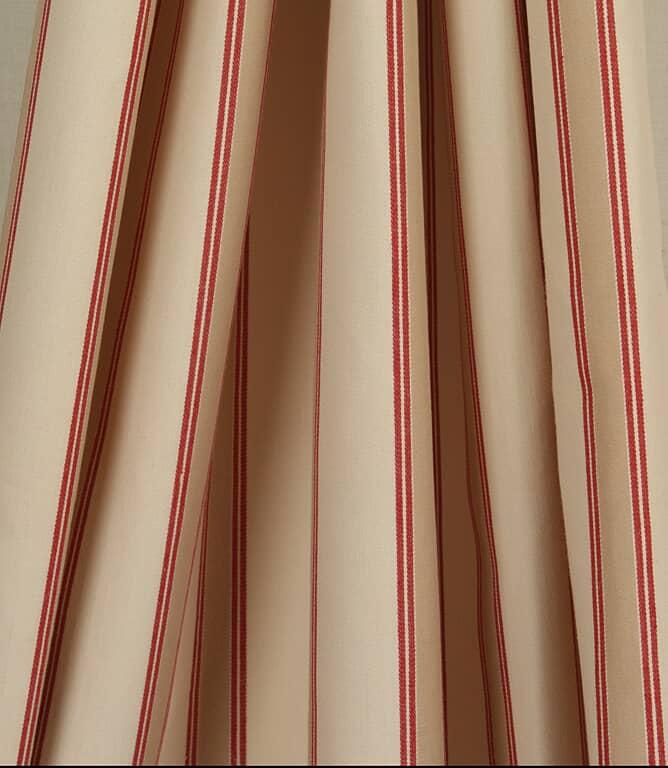 Oxford Stripe Fabric / Red