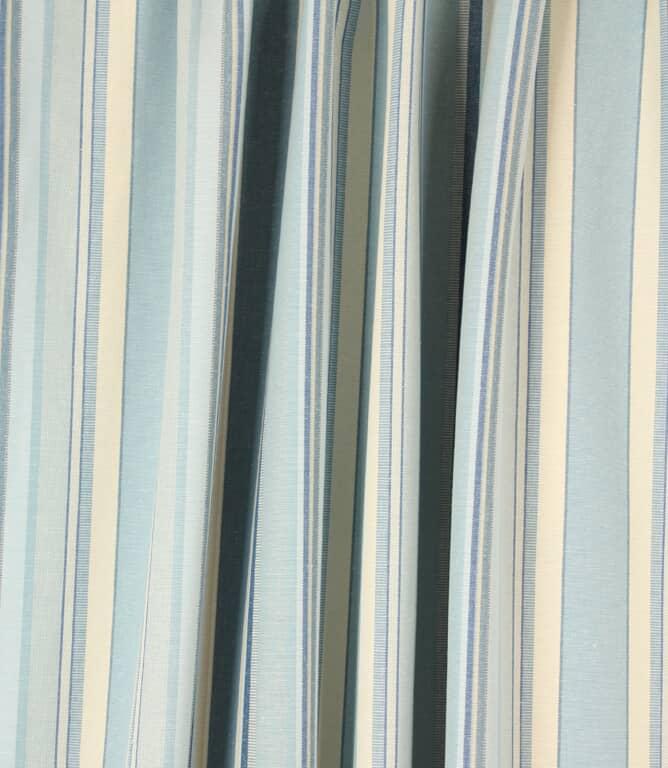 Falmouth Stripe Fabric / Horizon