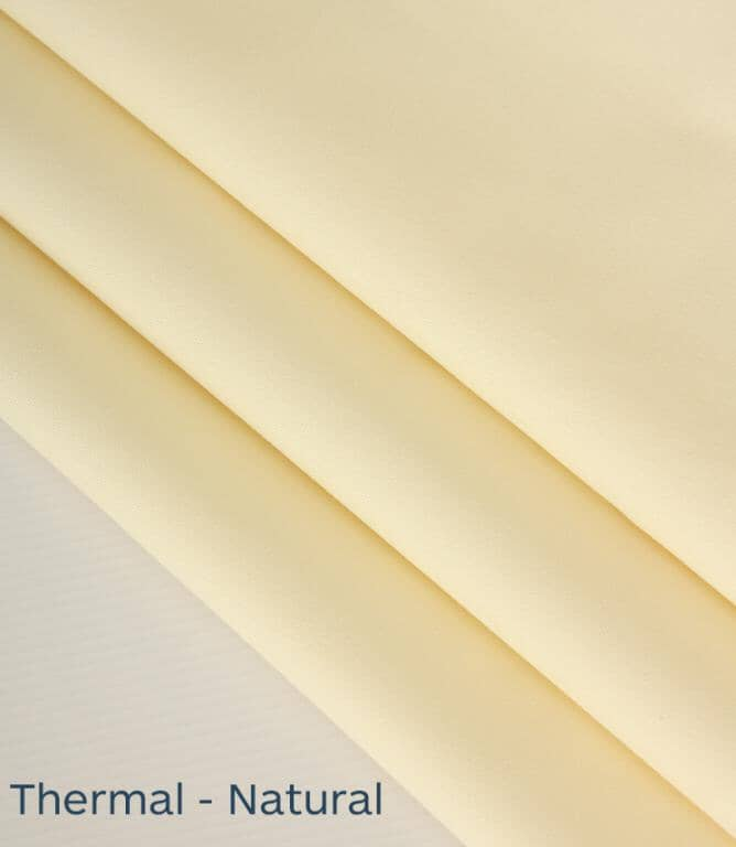 Thermal Lining Fabric / Natural