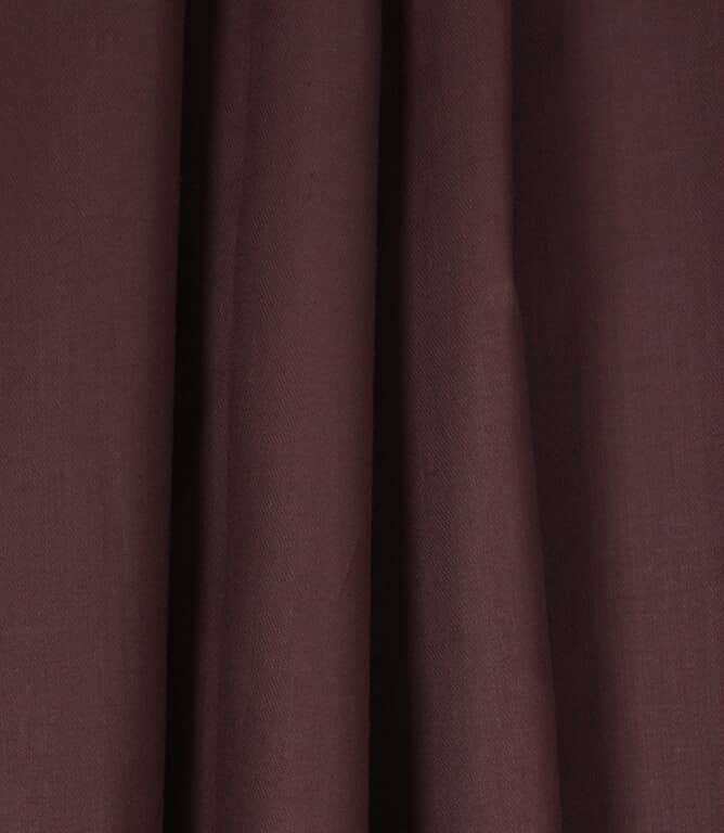 Coloured Linings Fabric / Aubergine