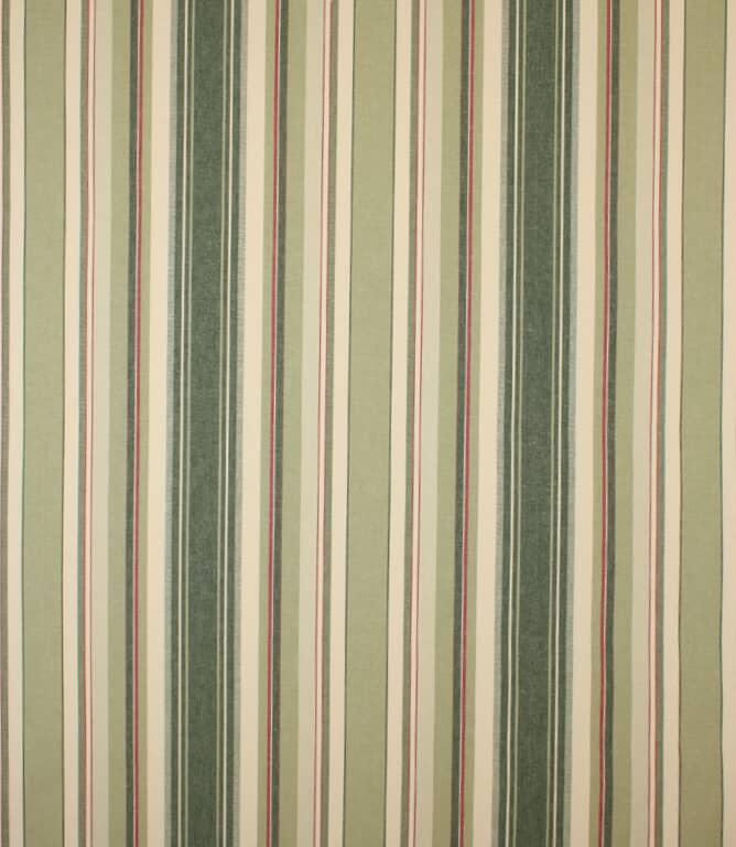 Vert Falmouth Stripe Fabric
