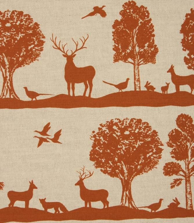 Voyage Maison Cairngorms Fabric / Rust