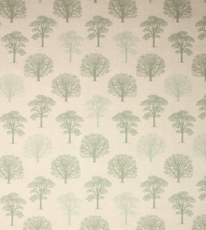 Green Wood Fabric