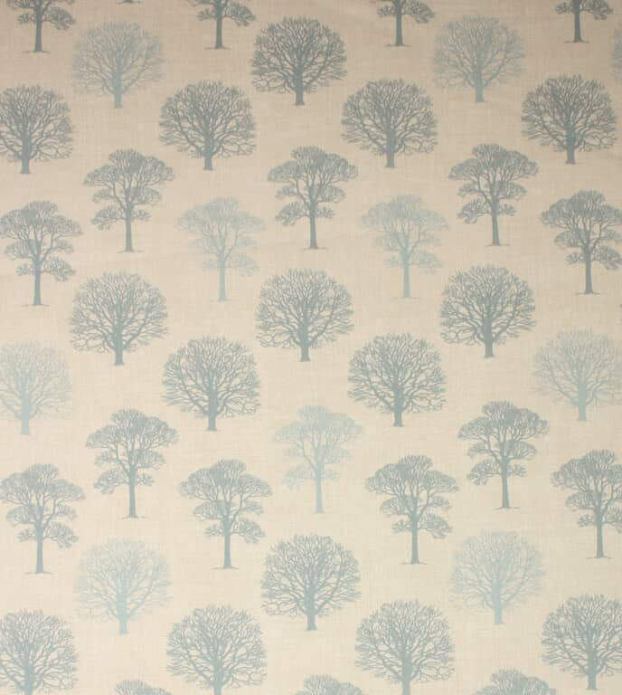 Duck Egg Wood Fabric