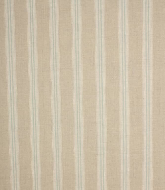 Cotswold Stripe Fabric / Duck Egg