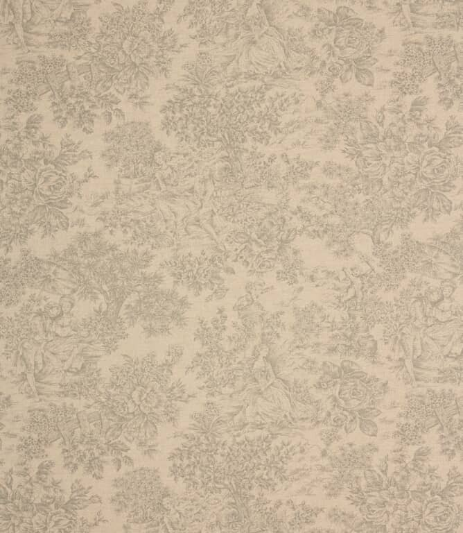 Grey Zen Toile Fabric