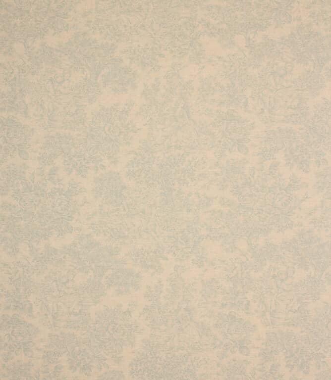 Blue Zen Toile Fabric