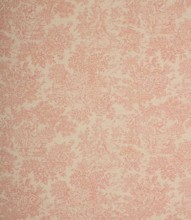 Red Zen Toile Fabric