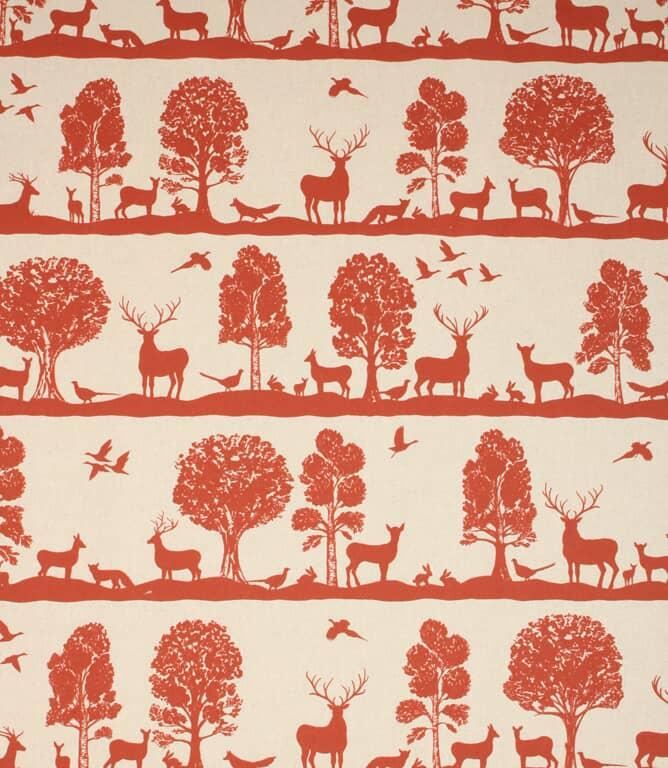Paprika Cairngorms Fabric