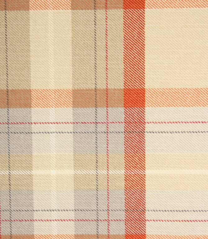 Munro Check Fabric / Seville