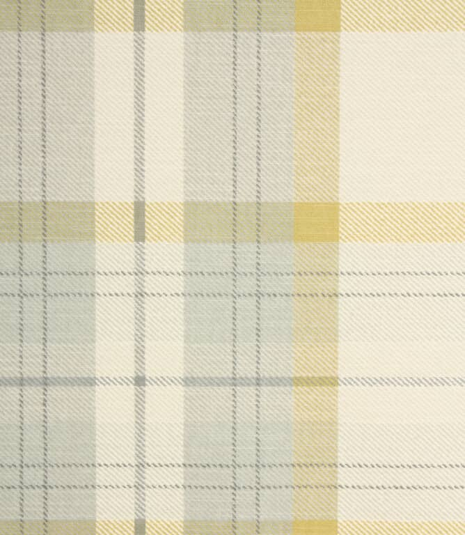 Munro Check Fabric / Chartreuse
