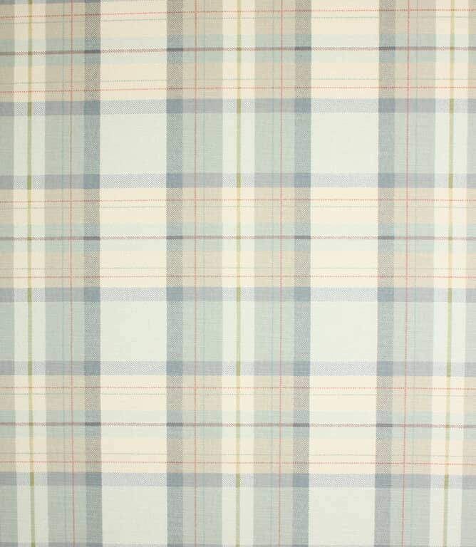 Chambray Munro Check Fabric