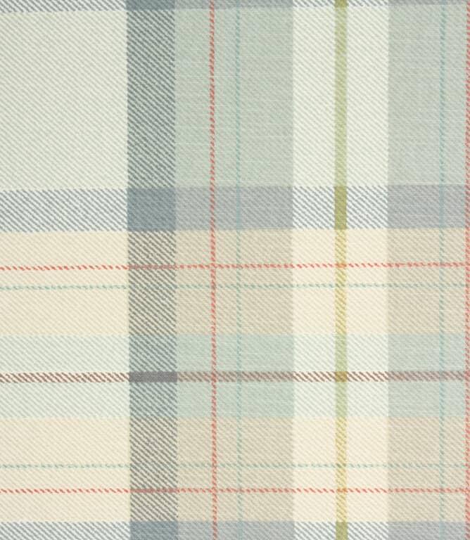 Munro Check Fabric / Chambray