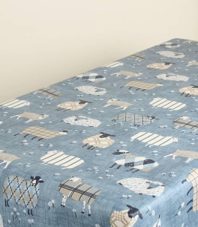 Baa Baa PVC Fabric / Denim