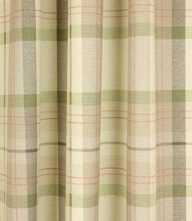 Munro Check Fabric / Acacia