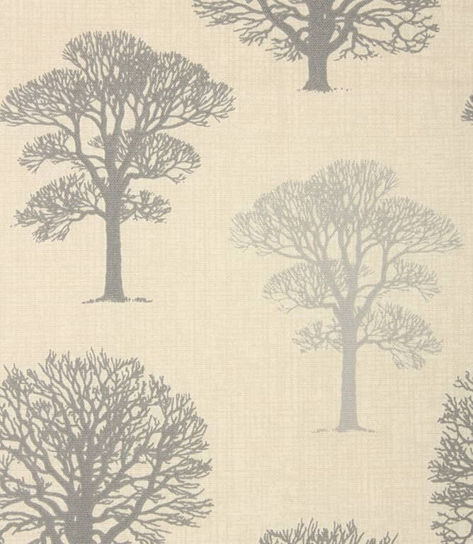 Grey Wood Fabric Remnant