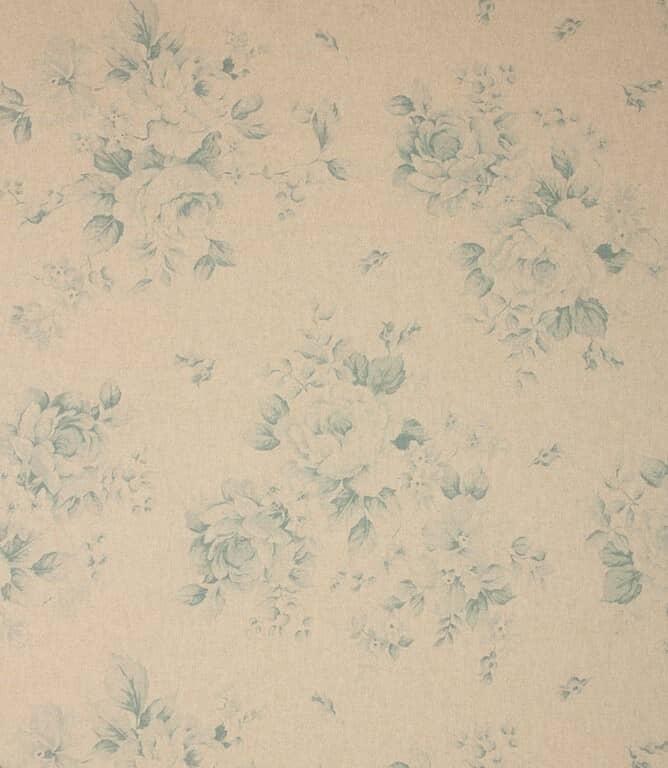 Blue Grande Floral Fabric