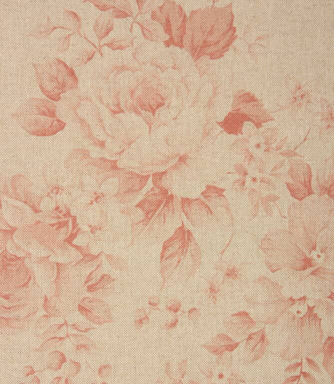 Grande Floral Fabric / Red