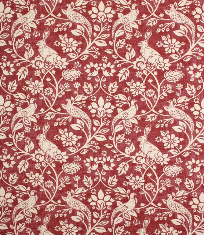 Rouge Heathland Fabric