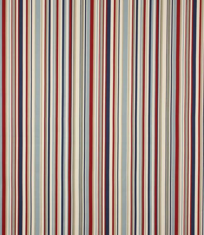 Blue Funky Stripe Fabric