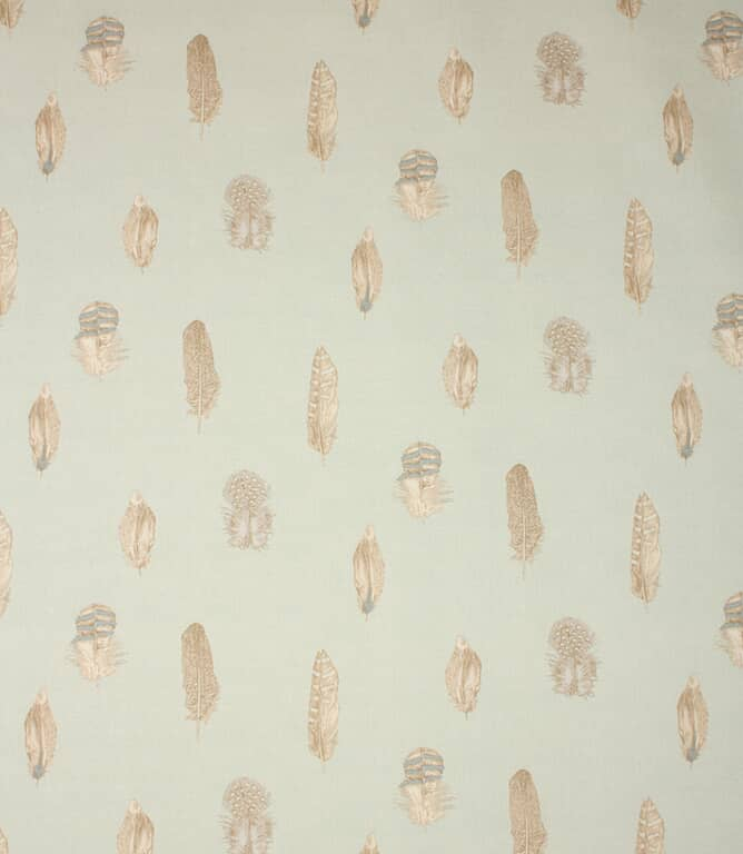 Duck Egg Plumage Fabric