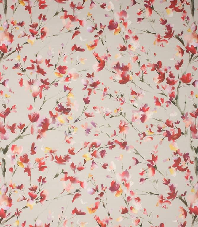 Raspberry Stone Belsay Fabric