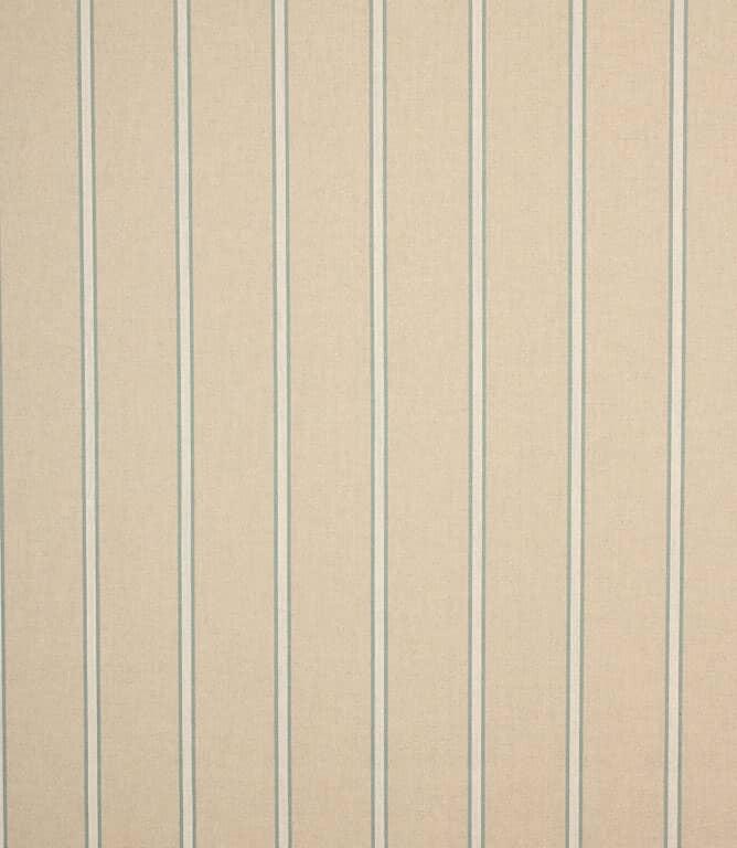 Blue Linen Stripe Fabric
