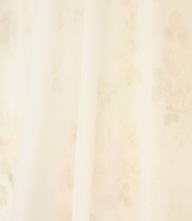 JF Batiste Voile Fabric / White