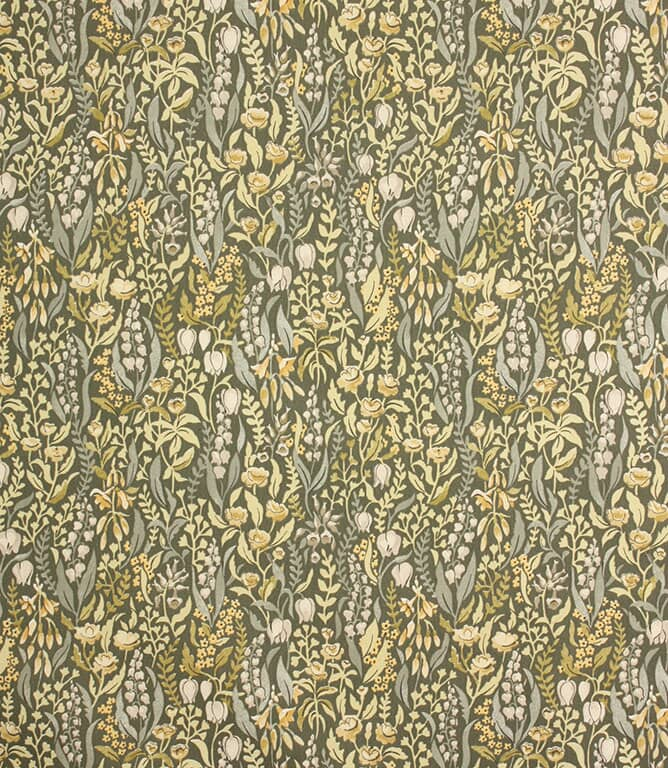 Moss Kelmscott Fabric