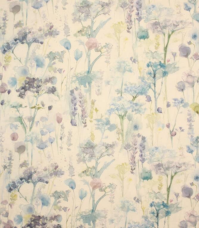 Violet Natural Ilinizas Fabric
