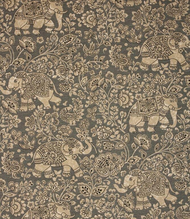 Indira Fabric / Charcoal