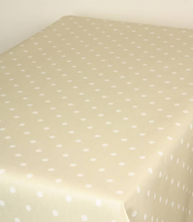 Full Stop Matt PVC Fabric / Parchment