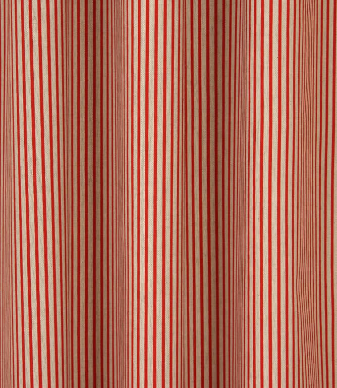Lines Fabric / Red