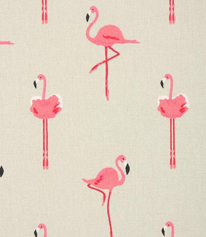 Sophie Allport Flamingos Fabric / Pink