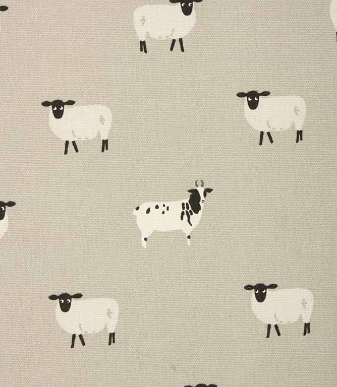 Sophie Allport Sheep Fabric / Grey