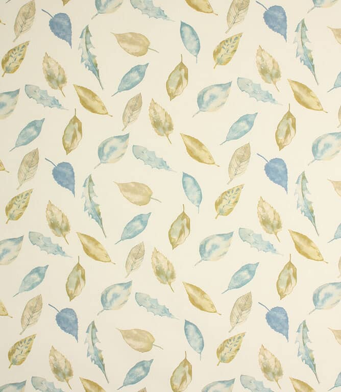 Foliage Fabric / Slate Blue