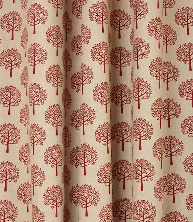 Spruce Fabric / Red