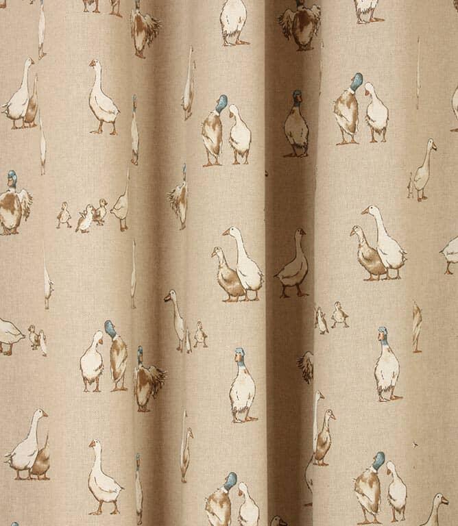 Farm Ducks Fabric / Linen