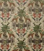 Wild India Fabric / Multi