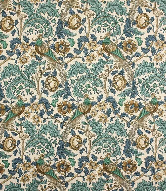 Verdigris Oakmere Fabric