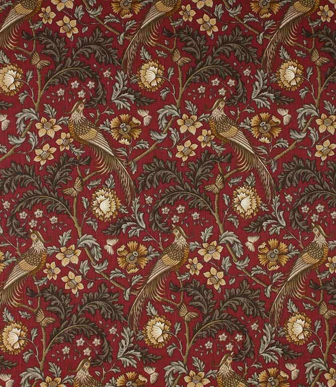 Carmine Oakmere Fabric