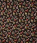 Alpaca Mini Tapestry Fabric / Black