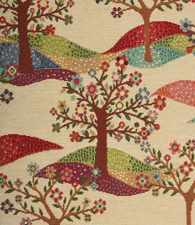 Tree Tapestry Fabric / Multi