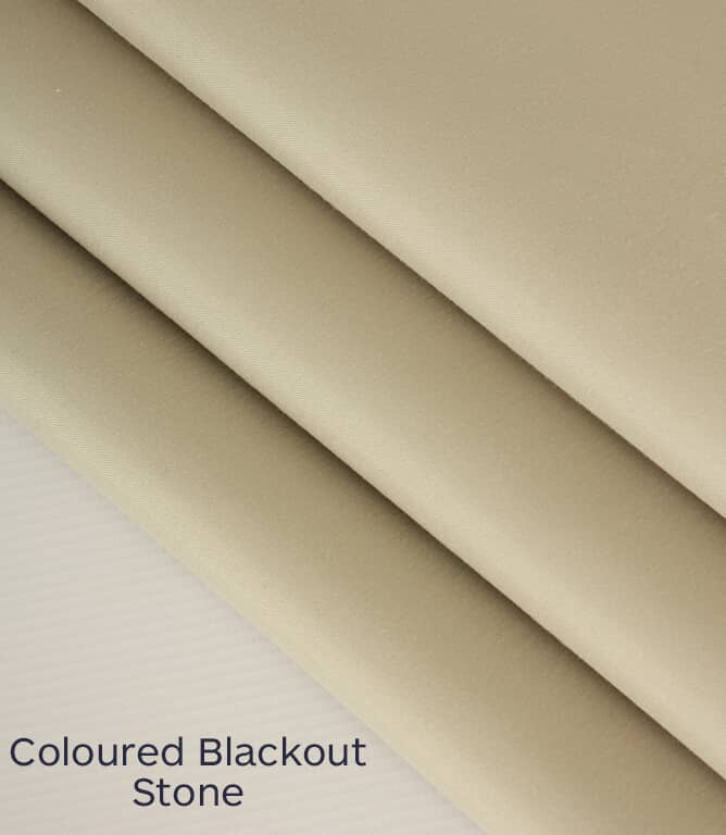 Colour Blackout Lin Fabric / Stone