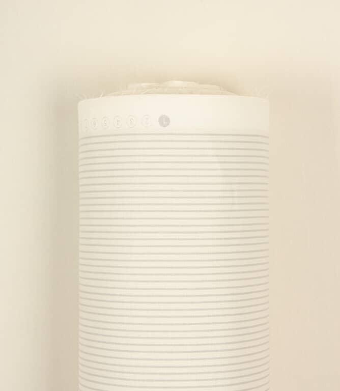 JF Stripe Lining Fabric / Grey